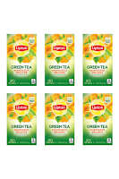 Lipton Green Tea Bags Flavored with Other Natural Flavors Mandarin Orange
