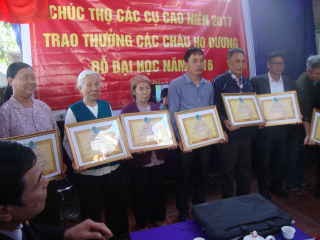 Lễ mừng thọ và vinh danh năm 2017 của Họ Dương Kim Động