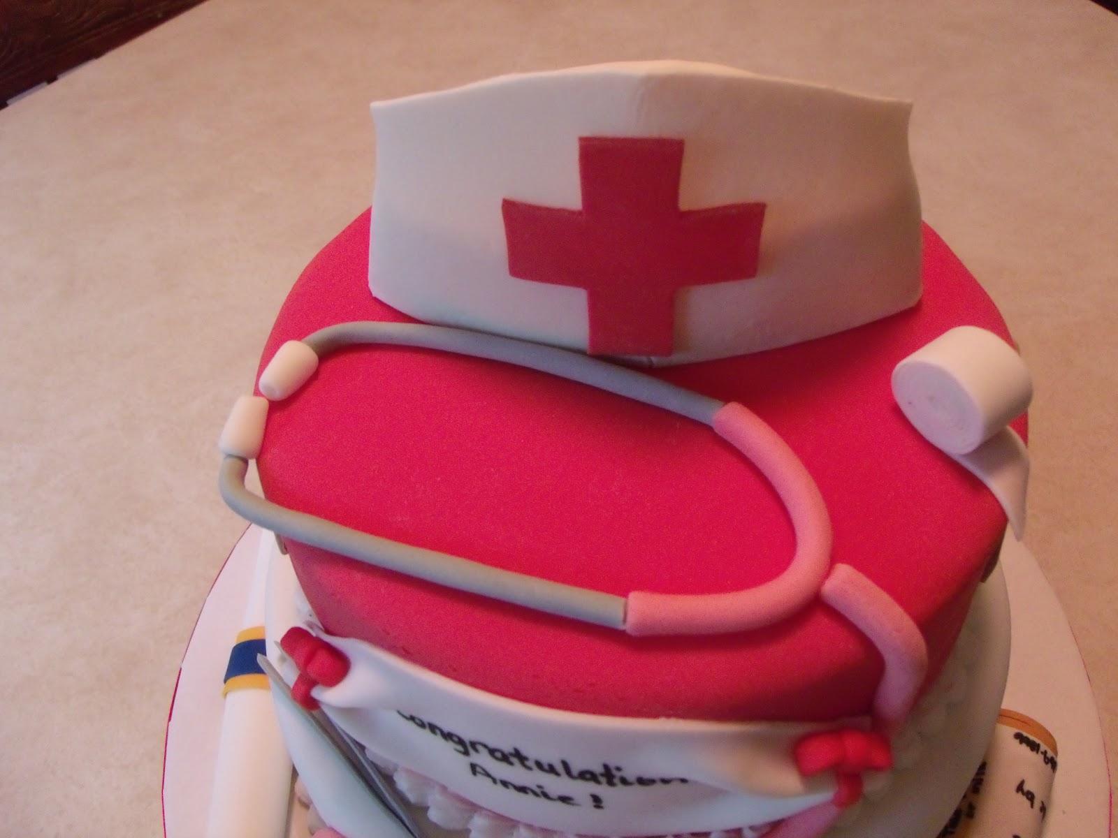 Cakes By The Sugar Cains Nurse Graduation Cake