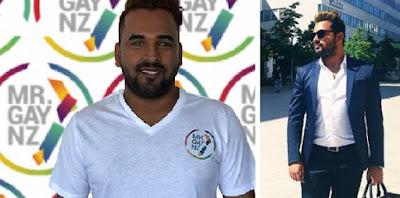 Bharat Mahajan crowned Mr Gay New Zealand 2021