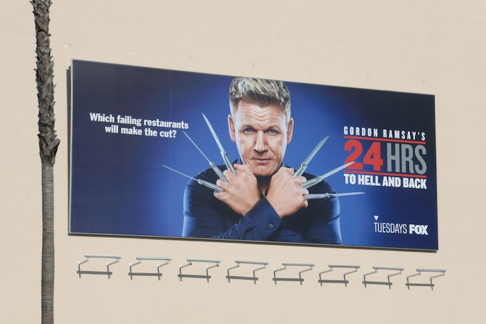 Gordon Ramsey 24 Hrs to Hell and Back billboard