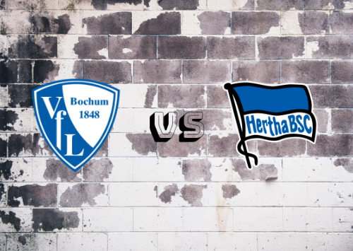 Bochum vs Hertha BSC  Resumen