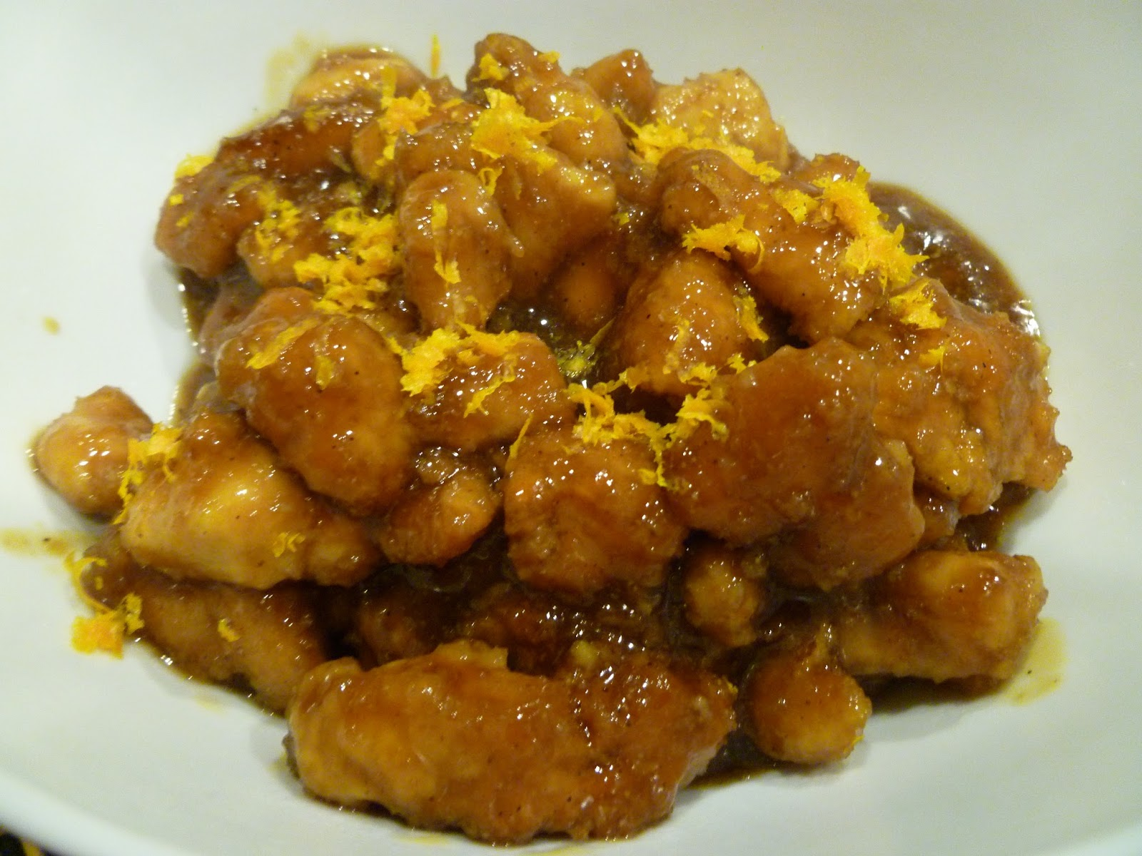 Authentic Chinese Orange Chicken Recipe