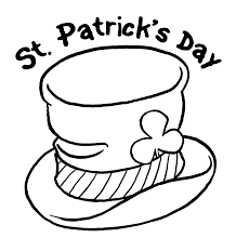 Happy St. Patrick's day coloring pages pdf 2018
