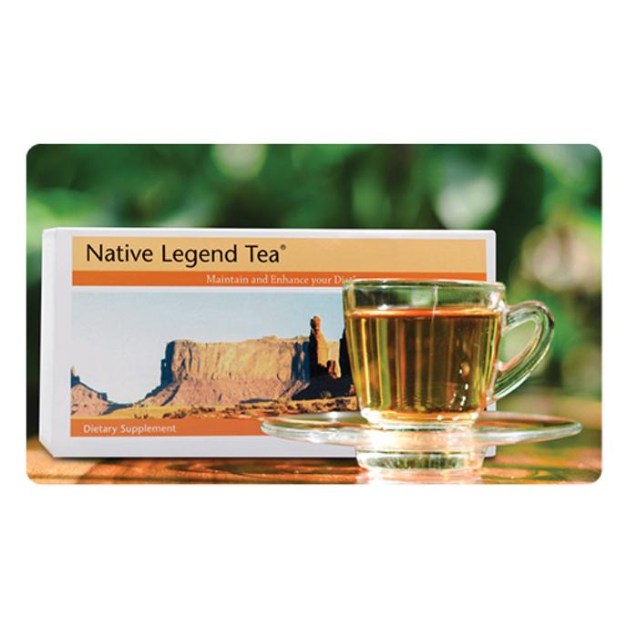 Trà thảo mộc native legend tea - thải độc huyết tương thương hiệu Unicity