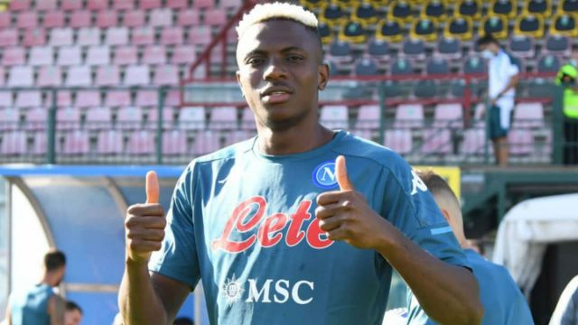 De Laurentiis urges Napoli fans to be patient with Osimhen