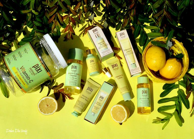 Pixi Vitamin-C kosmetyki do pielęgnacji twarzy recenzja