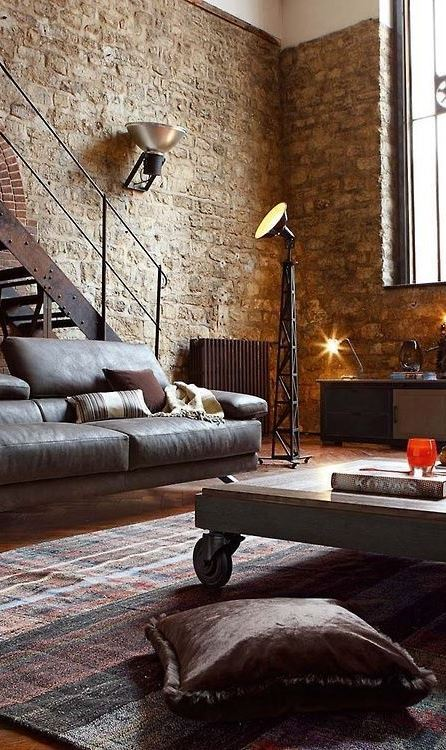 OFFICES WITH AN INDUSTRIAL INTERIOR DESIGN TOUCH 45 Stylish Industrial Interior Design Ideas