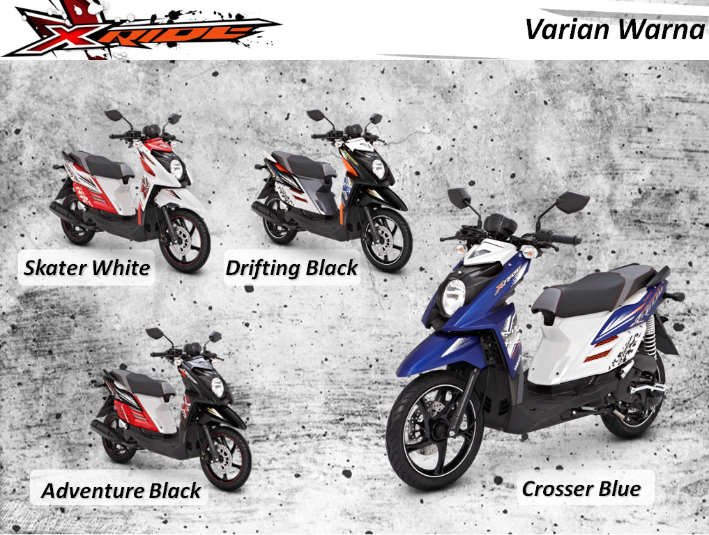 Yamaha X Ride Special Edition Adventure terbaru