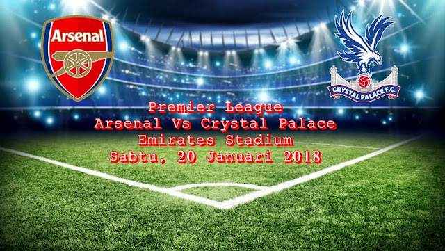 Ulasan Sepakbola Liga Inggris Arsenal Vs Crystal Palace 20 Januari 2018