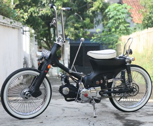 contoh modifikasi motor grand 97