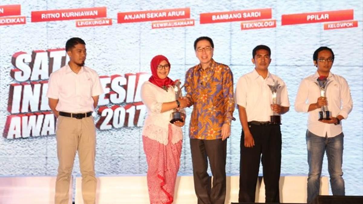 Anjani Sekar Arum meraih SIA 2017