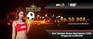 Apa Saja Permainan Dalam Situs Judi Bola Sbobet 88CSN Online Dengan Bonus 120% New Member
