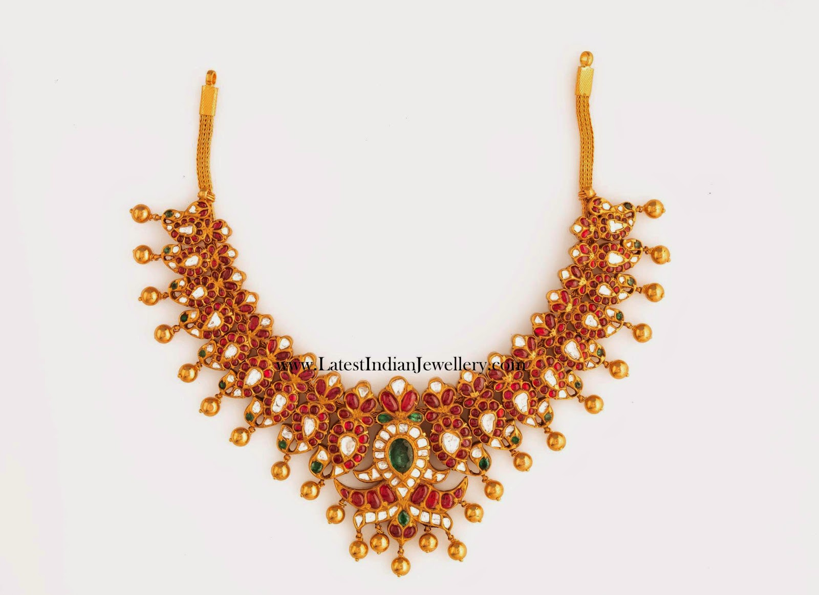 Breathtaking Traditional Ruby Necklace