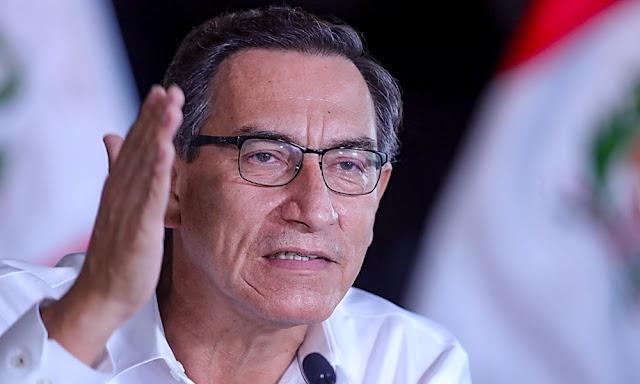 Martín Vizcarra amplía aislamiento social obligatorio hasta el 26 de abril