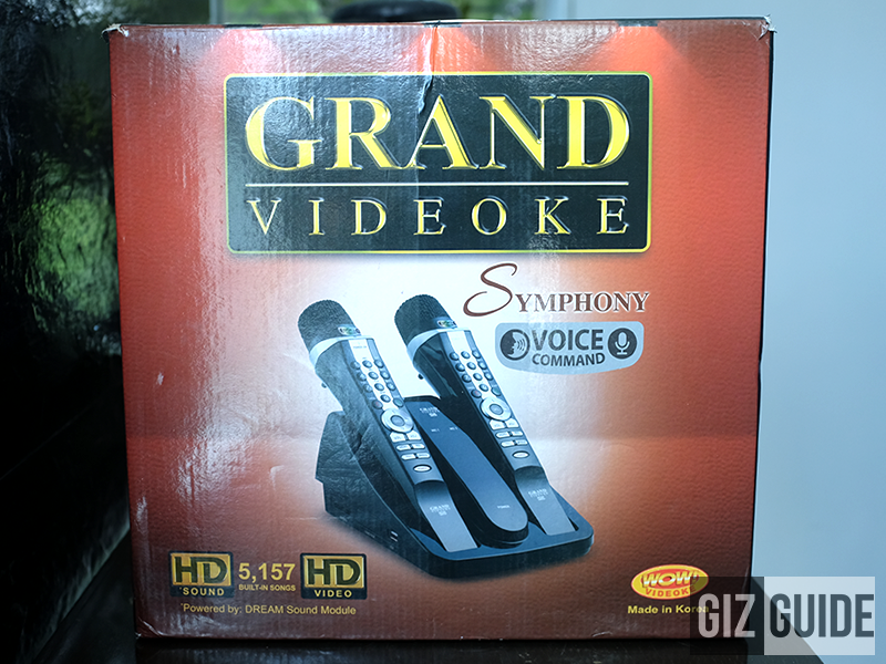 The Grand Videoke box