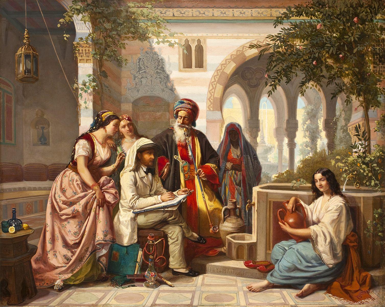 les peintres orientalistes en egypte