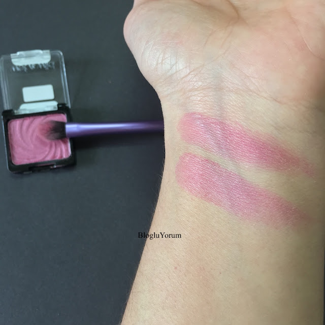 wet n wild color icon cheeky far incelemesi swatch
