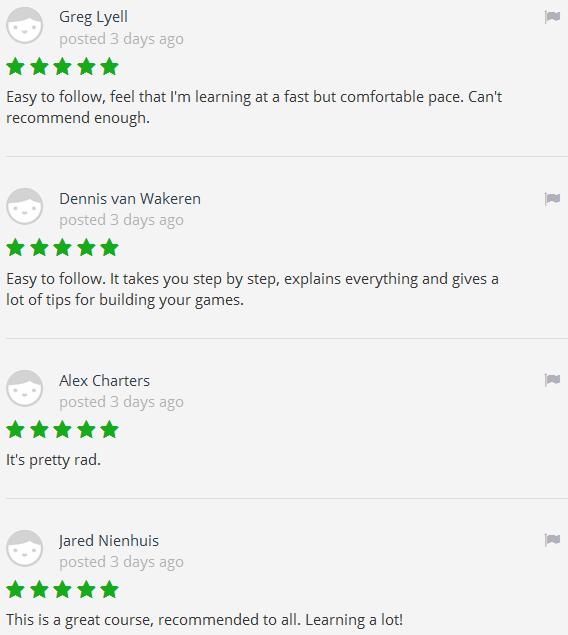 unity3d course review