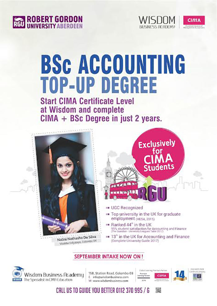 CIMA + BSc Degree in just 2 years