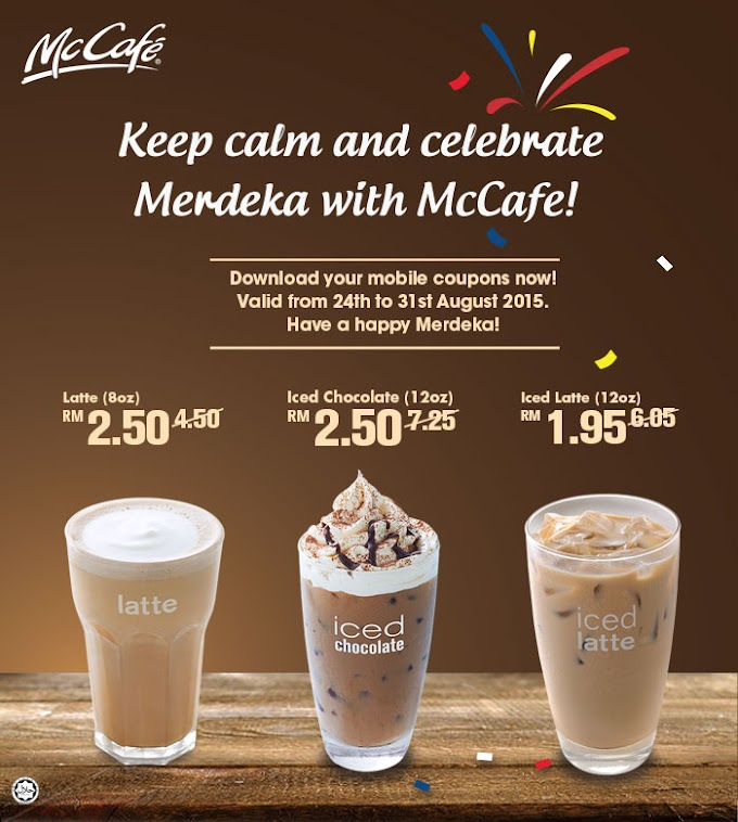 WORDLESS WEDNESDAY : MC CAFE PROMOTION!