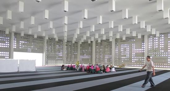 Desain interior masjid modern