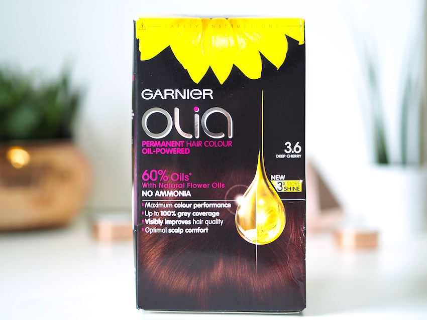 Garnier Olia Hair Colour in Deep Cherry 3.6