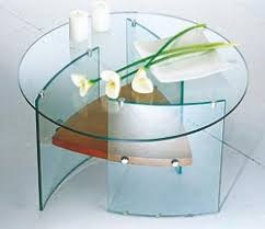 Flowers are the great decoration for a glass table