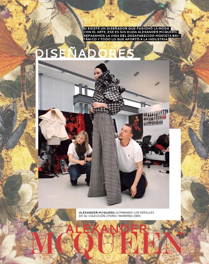 Alexander McQueen, la extravagancia de la moda
