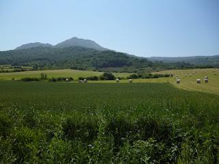 Vistas desde los caminos rurales