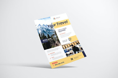 Contoh brosur tour travel
