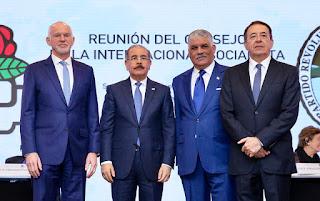 Presidente Danilo Medina encabeza acto de apertura del Consejo Mundial de la Internacional Socialista