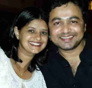 Subodh Bhave With His Wife