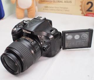 Jual Kamera DSLR Nikon D5200 Second