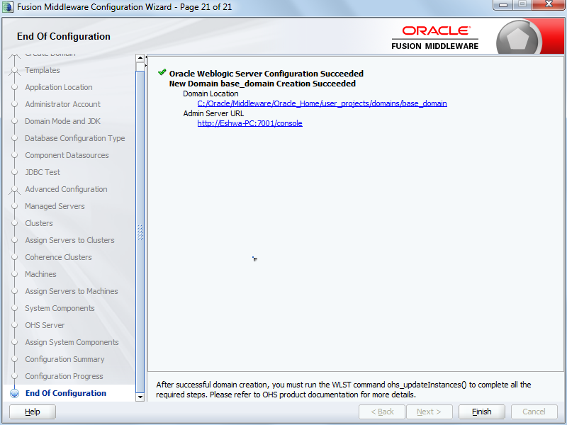 Oracle's Talk: Installing Oracle Forms and Reports 12c on
