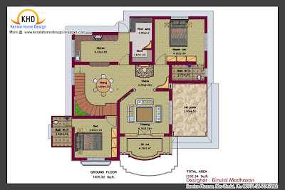 House Plan and Elevation - 2292 Sq. Ft. - June 2011