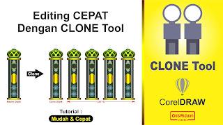 Cara Menggunakan Clone Tool CorelDraw