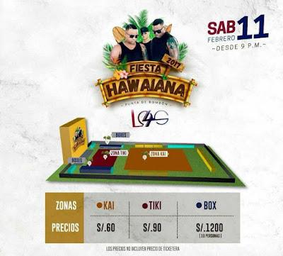 Fiesta Hawaiana 2017 entradas