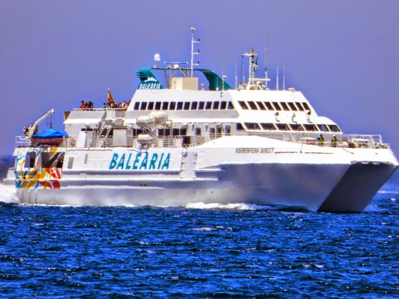 Ferrybalear el r pido formentera direct de bale ria for Oficina balearia ibiza