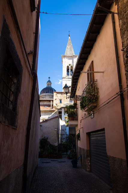 Vicoletto nel centro storico di Sulmona