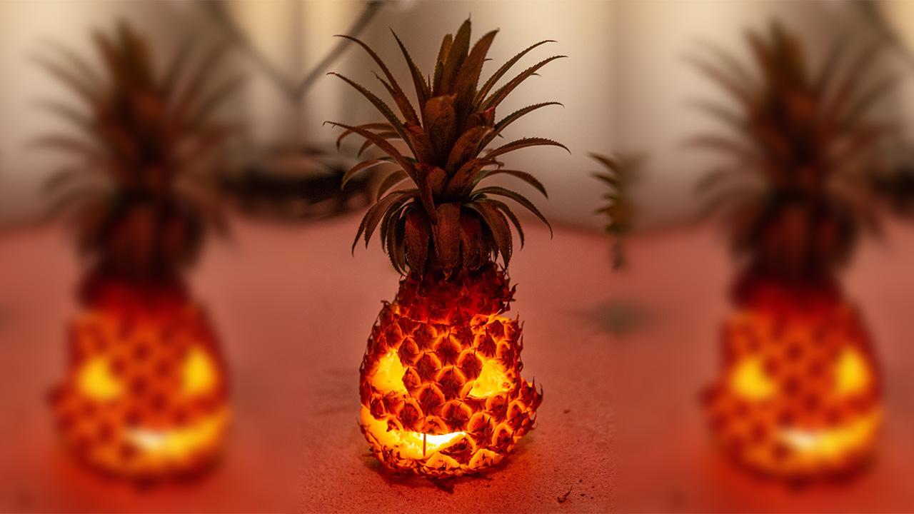 Halloween Pineapple 2020