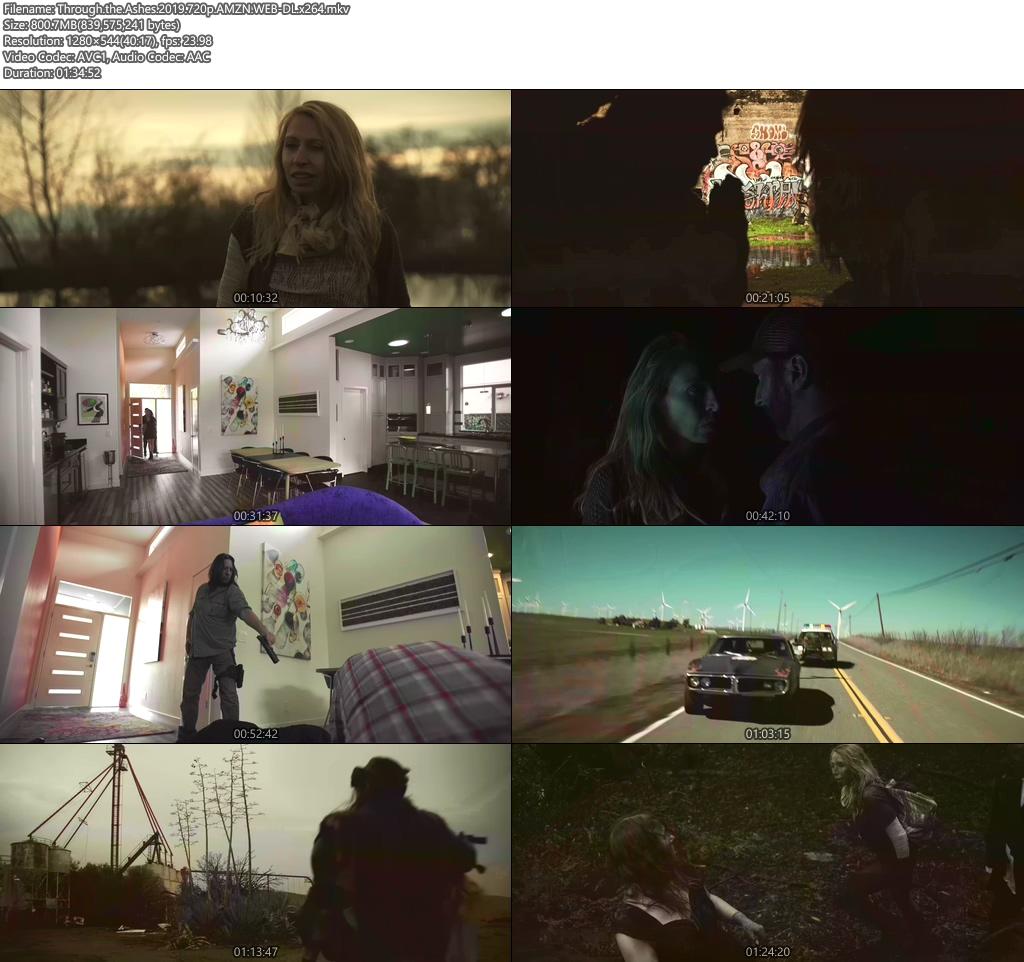 Through the Ashes 2019 720p AMZN WEB-DL x264 | 480p 300MB | 100MB HEVC Screenshot