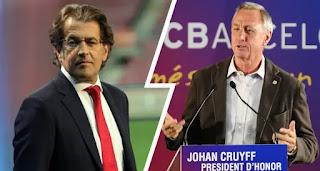 Freixa speaks on stripping Johan Cruyff off his 'honorary president' badge at Barcelona