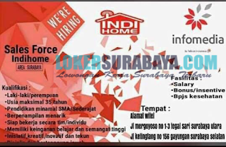 Open Recruitment PT Infomedia Surabaya Terbaru Juni 2019