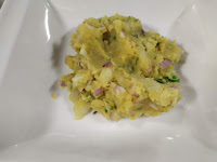 Stuffing mixture for aloo paratha recipe