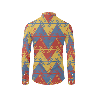 Gomagear Native Print Long Sleeve Shirt