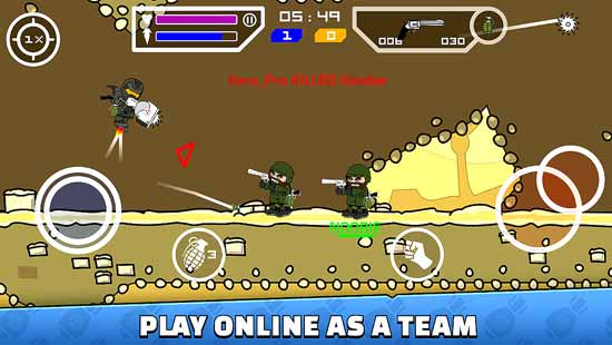 Mini Militia 2 Doodle Army Mod Apk Download