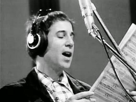 """Paul Simon, na gravação de """"We Are the World"""""""