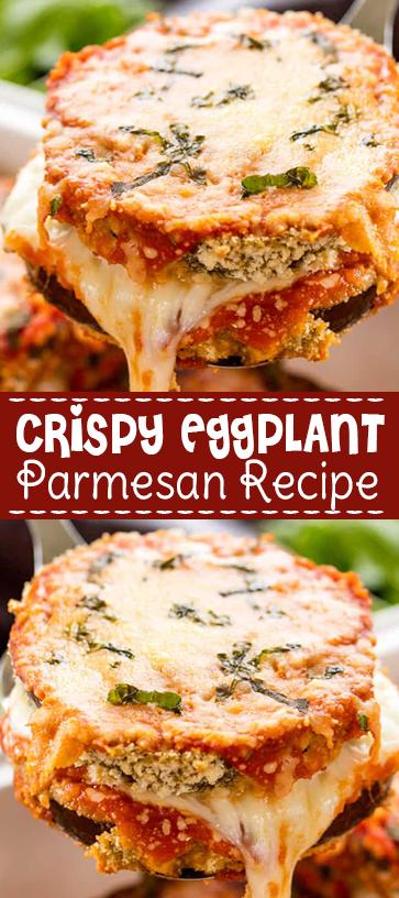 #Crispy #Eggplant #Parmesan #Recipe #comfortfood