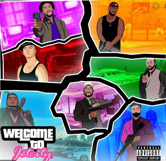 "Jetcity Records 22-track collab project ""Welcome To Jet City"" takes hip-hop to new, modern-trap heights"